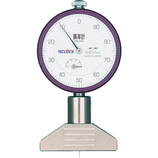 【メーカー在庫あり】 (株)テクロック テクロック ダイヤルデプスゲージ DM-264 HD