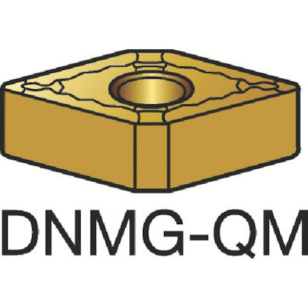 【メーカー在庫あり】 DNMG150608QM サンドビック(株) サンドビック T-Max P 旋削用ネガ・チップ 1105 10個入り DNMG 15 06 08-QM HD