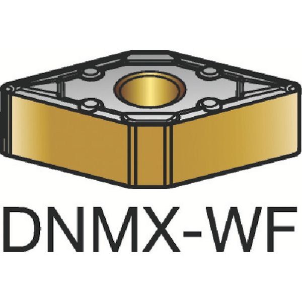 【メーカー在庫あり】 DNMX150408WF サンドビック(株) サンドビック T-Max P 旋削用ネガ・チップ 3215 10個入り DNMX 15 04 08-WF HD