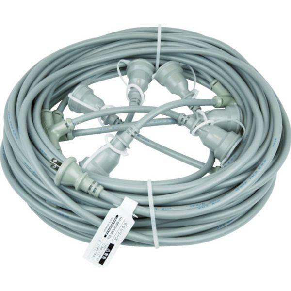 【メーカー在庫あり】 (株)長谷川製作所 HASEGAWA 分岐ケーブル ESTCシリーズ 25m 防水コネクター ESTC-25M-22-5 HD