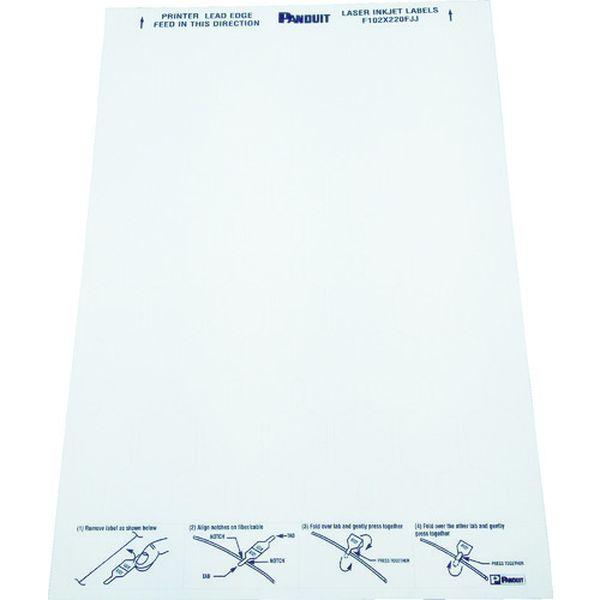 【メーカー在庫あり】 パンドウイットコーポレーション パンドウイット レーザープリンタ用 光ファイバー用旗型ラベル F102X220FJJ HD