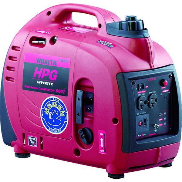 【メーカー在庫あり】 (株)ワキタ MEIHO エンジン発電機 HPG-900I HPG900I HD店