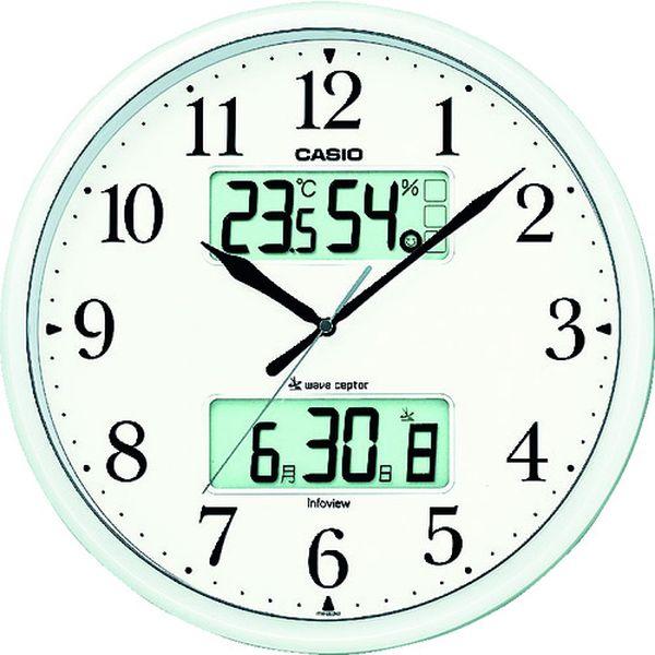 【メーカー在庫あり】 ITM660NJ8JF カシオ計算機(株) カシオ 電波掛け時計 ITM-660NJ-8JF HD店