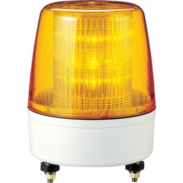 【メーカー在庫あり】 (株)パトライト パトライト LED流動・点滅表示灯 KPE-100A-Y HD