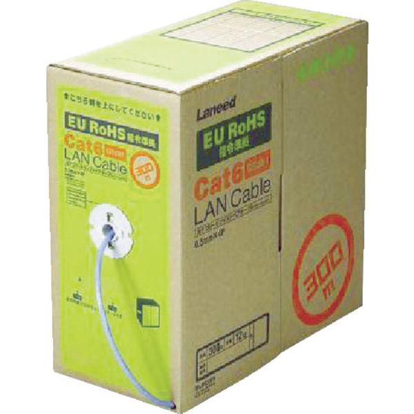 【メーカー在庫あり】 エレコム(株) エレコム EURoHS指令準拠LANケーブル300m/リール巻ブルー LD-CT6/BU300/RS HD