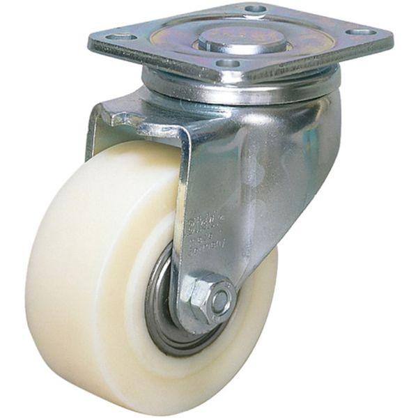 【メーカー在庫あり】 シシクSISIKUアドクライス(株 シシク 低床重荷重用キャスター 自在 80径 GSPO車輪 LH-GSPO-80K HD