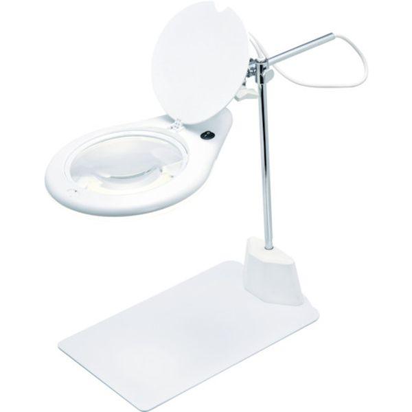 【メーカー在庫あり】 新潟精機(株) SK スタンド式LED拡大鏡 LS2-175S HD
