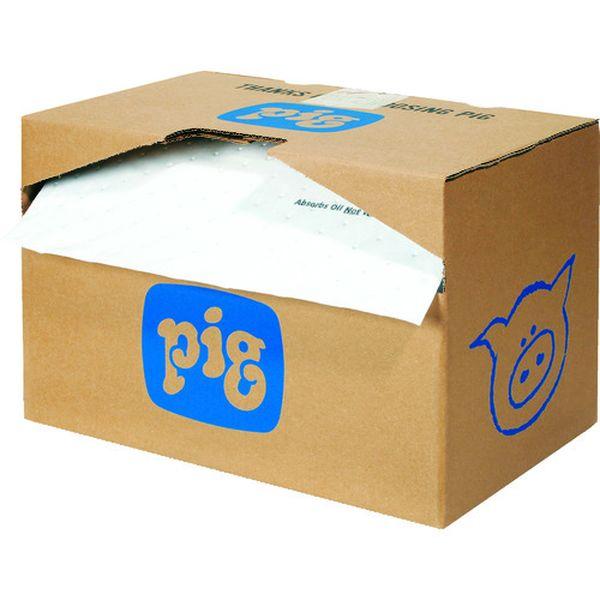 【メーカー在庫あり】 エー・エム・プロダクツ(株) pig 油専用フォーインワンピグマット ミシン目入り (1巻/箱) MAT484A HD店