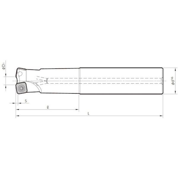 【メーカー在庫あり】 MFH32S32102T 京セラ(株) 京セラ ミーリング用ホルダ MFH32-S32-10-2T HD店