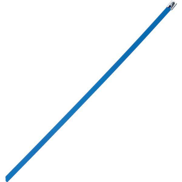 【メーカー在庫あり】 パンドウイットコーポレーション パンドウイット フルコーティングステンレススチールバンド 青 MLTFC6H-LP316BU HD