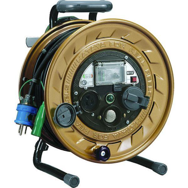 【メーカー在庫あり】 (株)ハタヤリミテッド ハタヤ メタルセンサー(金属感知機能付)リール 単相100V接地付 30m MSB-301KX HD