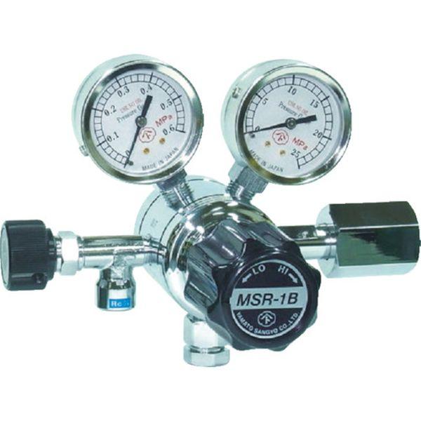 【メーカー在庫あり】 大和製衡(株) ヤマト 分析機用二段圧力調整器 MSR-1B MSR1B11TRC HD