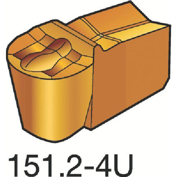 【メーカー在庫あり】 N151.2200204U サンドビック(株) サンドビック T-Max Q-カット 突切り・溝入れチップ H13A 10個入り N151.2-200-20-4U HD