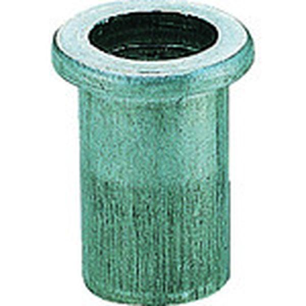 【メーカー在庫あり】 (株)ロブテックス エビ ナット(500本入) Dタイプ アルミニウム 10-2.5 NAD1025M HD