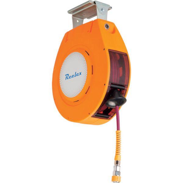 【メーカー在庫あり】 中発販売(株) Reelex 自動巻きエアーリール リーレックス エアーS (難燃性ホース) NAR-810WOR HD