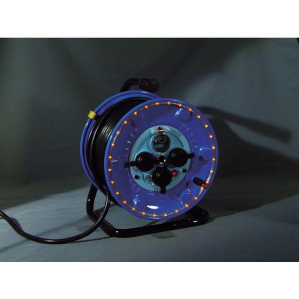 日動 NPWL-EB33-O LEDラインドラム 【メーカー在庫あり】 防雨型電工ドラム 日動工業(株) オレンジ HD