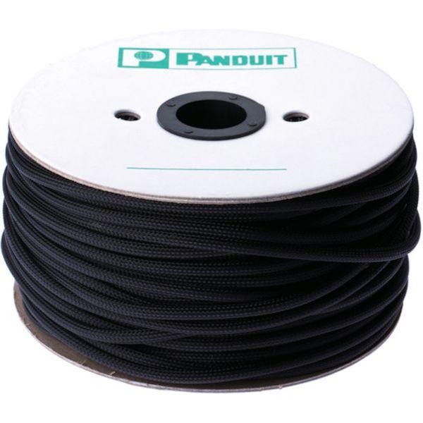 パンドウイットコーポレーション パンドウイット スーパーネットチューブ(ほつれ防止タイプ) 黒 SE38PSC-TR0 HD