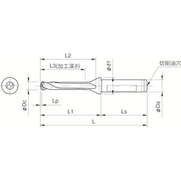 【メーカー在庫あり】 SF16DRC110M5 京セラ(株) 京セラ ドリル用ホルダ SF16-DRC110M-5 HD店