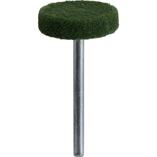 【メーカー在庫あり】 トラスコ中山(株) TRUSCO フェルトミニホイール 平型 Φ20 研磨用 緑色 10個入 SF205S-B HD