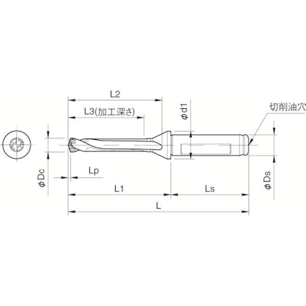 【メーカー在庫あり】 SF25DRC190M5 京セラ(株) 京セラ ドリル用ホルダ SF25-DRC190M-5 HD店