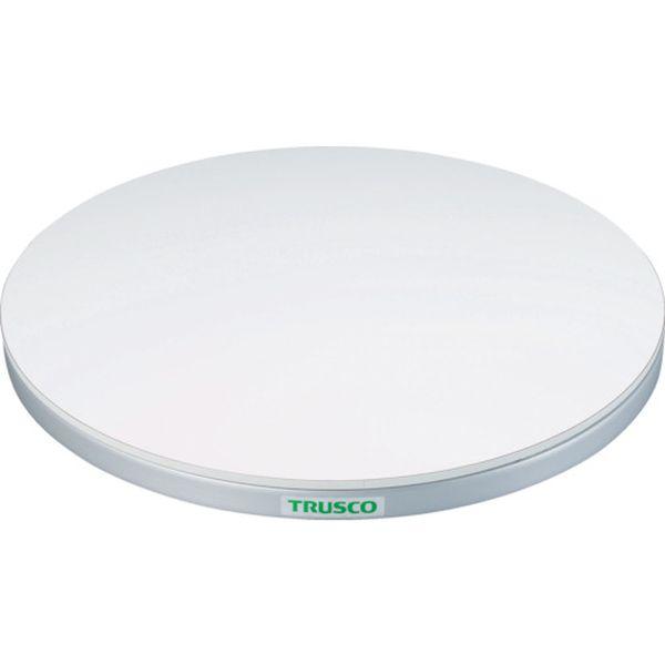トラスコ中山(株) TRUSCO 回転台 100Kg型 Φ300 ポリ化粧天板 TC30-10W HD