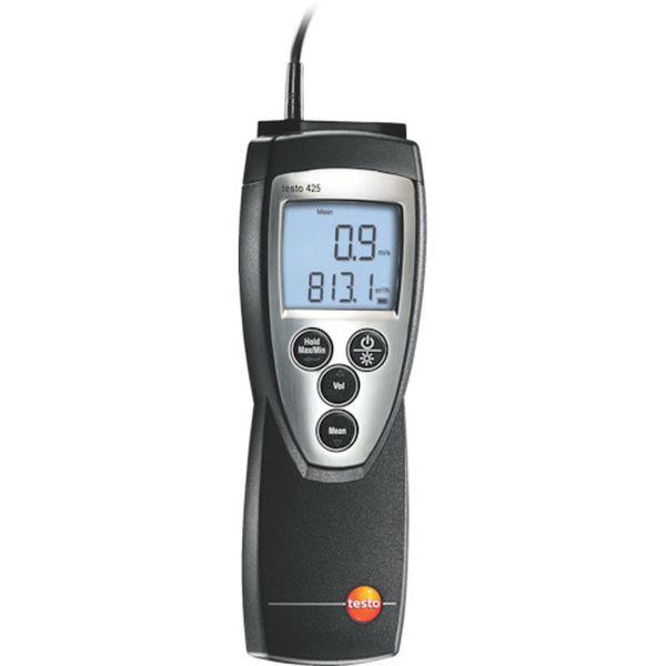 【メーカー在庫あり】 (株)テストー テストー 熱線式風速風量計 TESTO425 HD