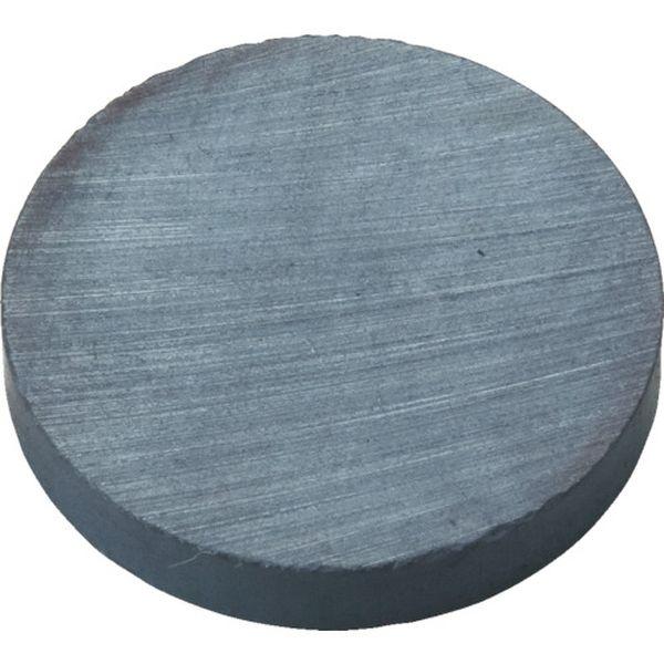 【メーカー在庫あり】 トラスコ中山(株) TRUSCO フェライト磁石 外径50mmX厚み10mm 10個入り TF50R-10P HD
