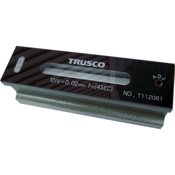 【メーカー在庫あり】 トラスコ中山(株) TRUSCO 平形精密水準器 B級 寸法200 感度0.05 TFL-B2005 HD