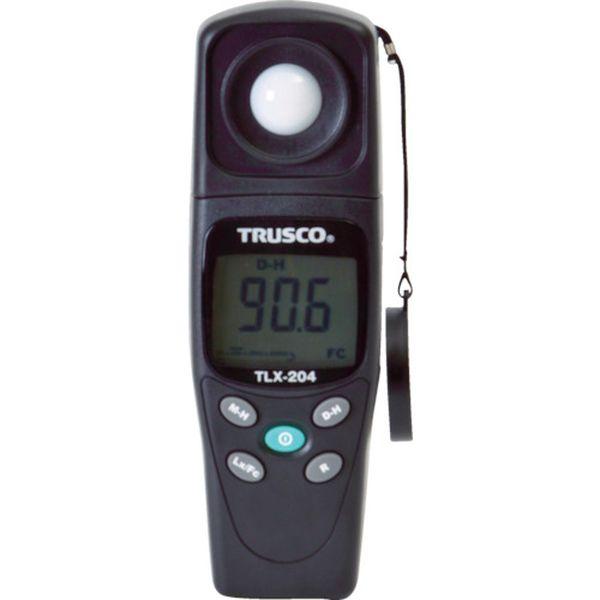 【メーカー在庫あり】 TLX204 トラスコ中山(株) TRUSCO デジタル照度計 TLX-204 HD店