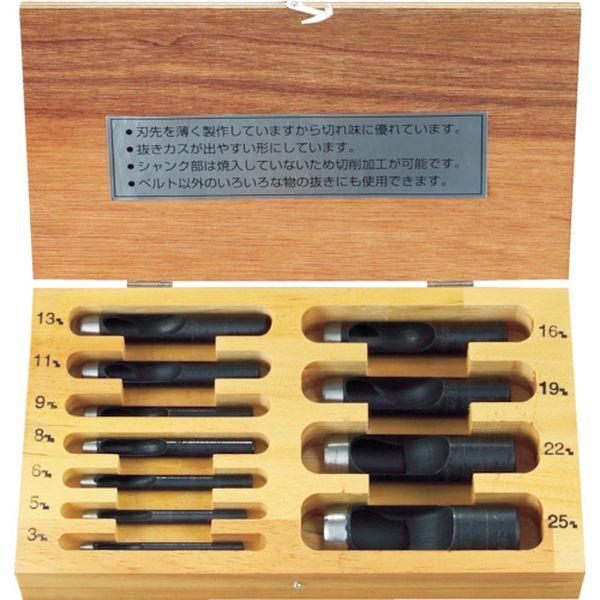 【メーカー在庫あり】 TPO11S トラスコ中山(株) TRUSCO ポンチセット 11本組 TPO-11S HD店