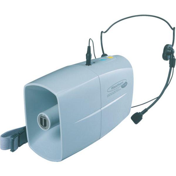 【メーカー在庫あり】 ユニペックス(株) ユニペックス ミニメガホン 3W ウエストホーン TRC-3WH HD