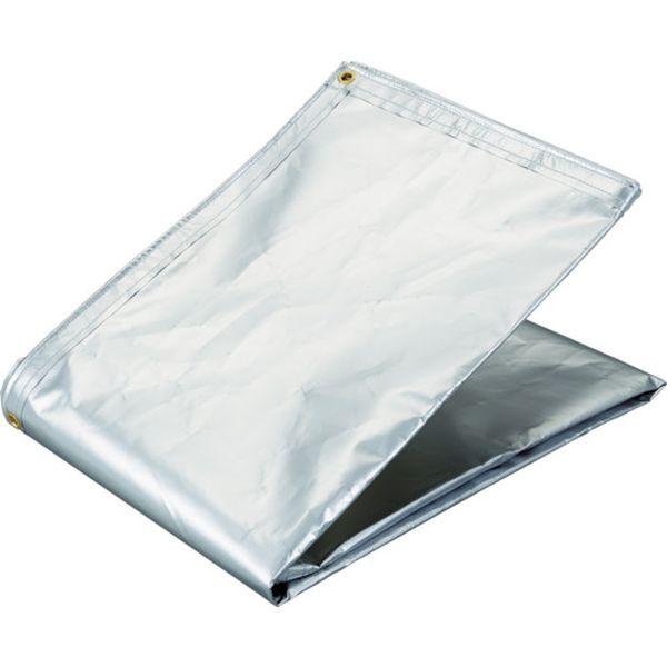 【メーカー在庫あり】 トラスコ中山(株) TRUSCO アルミ蒸着塩ビ遮熱シート 1.8×5.4M TRSPC-1854 HD