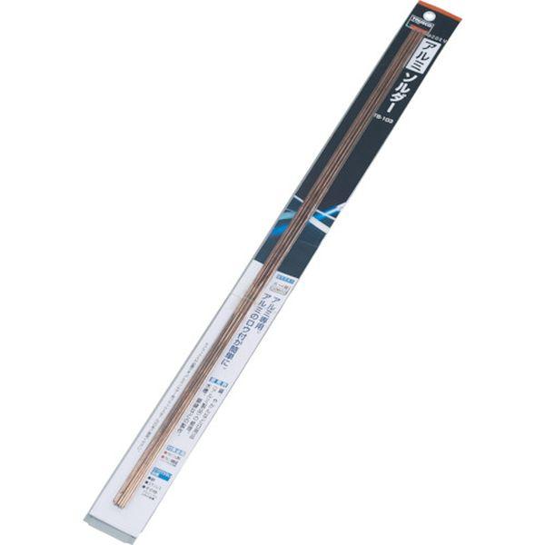 【メーカー在庫あり】 トラスコ中山(株) TRUSCO アルミソルダー 2.0X500mm 10本入 TRZ103-20-500 HD