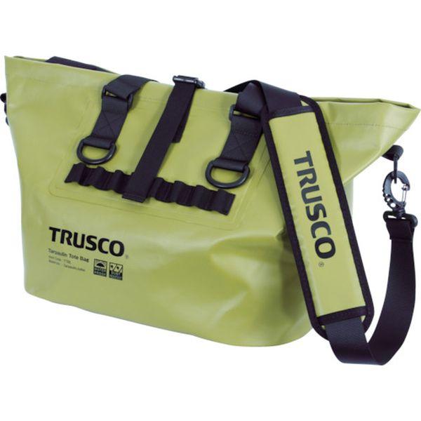 【メーカー在庫あり】 トラスコ中山(株) TRUSCO 防水ターポリントートバッグ Lサイズ OD TTBL-OD HD