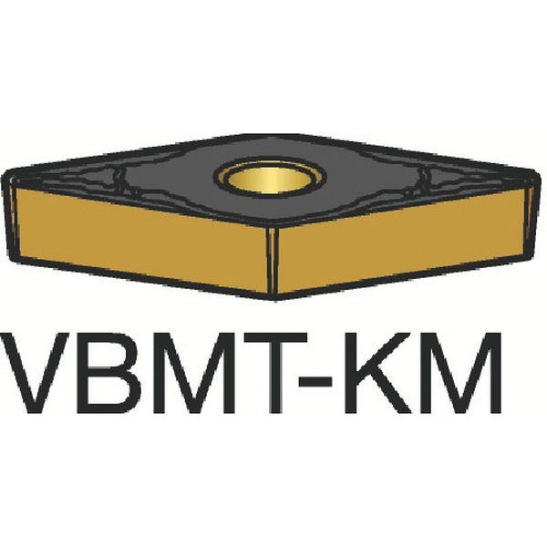 VBMT160408KM サンドビック(株) サンドビック コロターン107 旋削用ポジ・チップ 3210 10個入り VBMT160408-KM HD