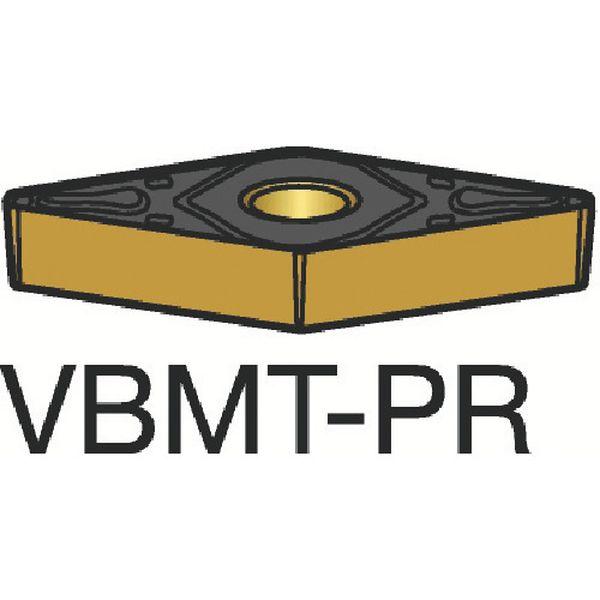 【メーカー在庫あり】 VBMT160408PR サンドビック(株) サンドビック コロターン107 旋削用ポジ・チップ 4235 10個入り VBMT160408-PR HD
