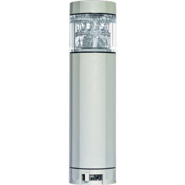 【メーカー在庫あり】 (株)日惠製作所 NIKKEI ニコタワープリズム VT04Z型 LED回転灯 46パイ 多色発光 VT04Z-100KU HD