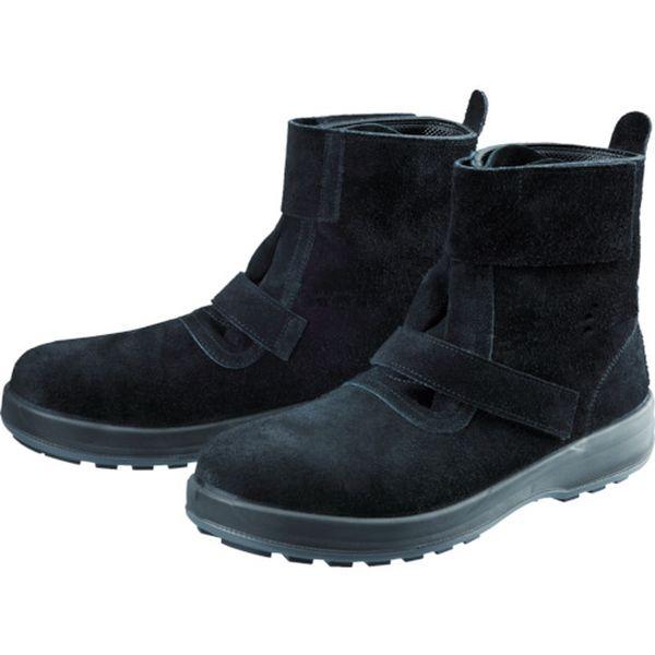 【メーカー在庫あり】 WS28BKT23.5 (株)シモン シモン 安全靴 WS28黒床 23.5cm WS28BKT-23-5 HD