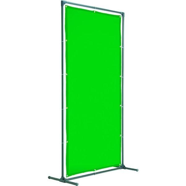【メーカー在庫あり】 YFAKDG トラスコ中山(株) TRUSCO 溶接遮光フェンス 2020型単体固定足 深緑 YFAK-DG HD店