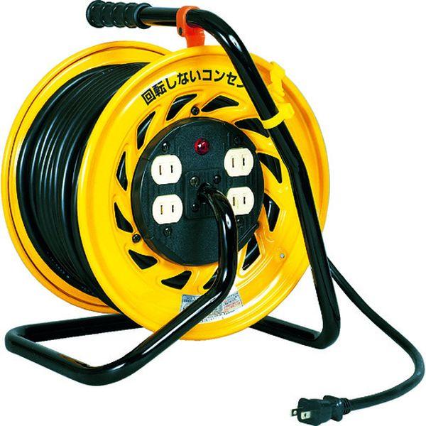 【メーカー在庫あり】 日動工業(株) 日動 電工ドラム マジックリール 100V 2芯 30m Z-304D HD