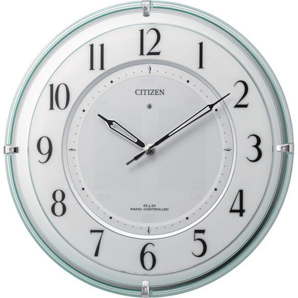 【メーカー在庫あり】 4MY851005 リズム時計工業(株) シチズン 電波掛時計 4MY851-005 HD店