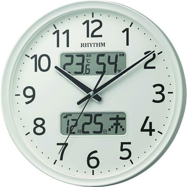 【メーカー在庫あり】 リズム時計工業(株) RHYTHM リズム 電波掛時計 8FYA03SR03 HD店