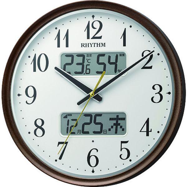 【メーカー在庫あり】 リズム時計工業(株) RHYTHM リズム 電波掛時計 8FYA04SR06 HD店