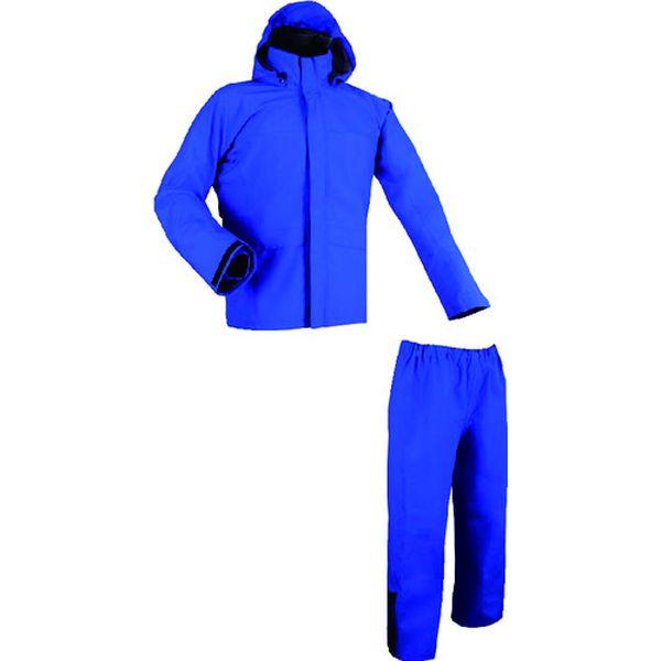 【メーカー在庫あり】 BLUE4L (株)前垣 前垣 ゴアテックス制電レインスーツ 4Lサイズ AP2700 HD店
