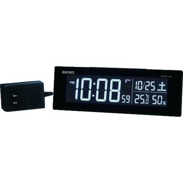 【メーカー在庫あり】 セイコークロック(株) SEIKO シリーズC3交流式デジタル電波置時計 DL305K HD店