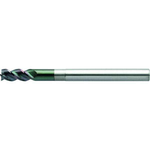 【メーカー在庫あり】 DLCAZS3070350 ユニオンツール 3枚刃DLCコートロングネックスクエア 外径7×有効長35×刃長14×全長80 DLC-AZS3070-350 HD店