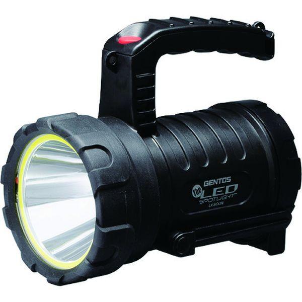 【メーカー在庫あり】 LK500R ジェントス(株) GENTOS パワーバンク機能搭載充電式高出力LED強力ライト LK-500R HD店