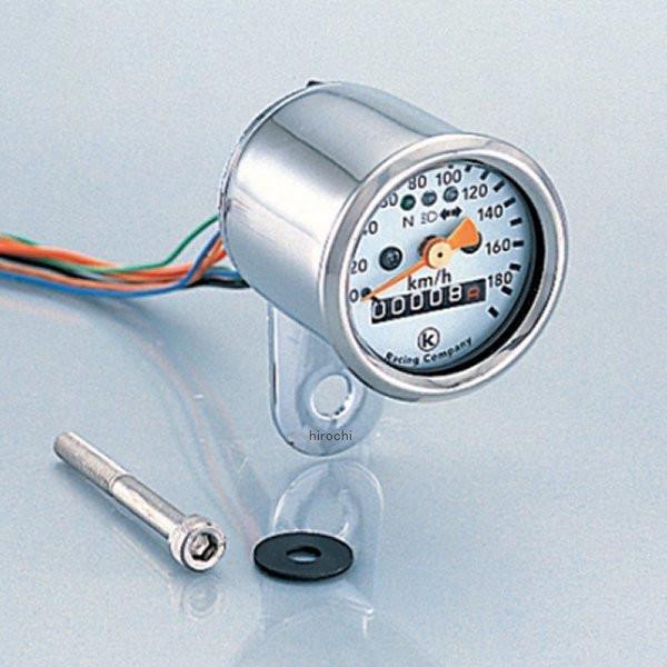 キタコ Φ48ミニミニスピードメーター 190キロ/h 表示 752-0900030 JP店