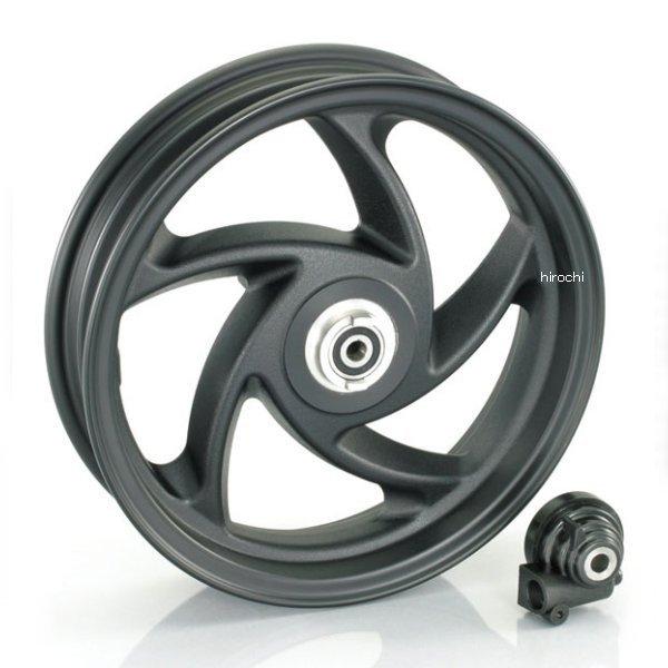 キタコ 10インチ5スポークアルミキャストホイール (フロント/ブラック) forアドレスV125/- 509-2407710 JP店