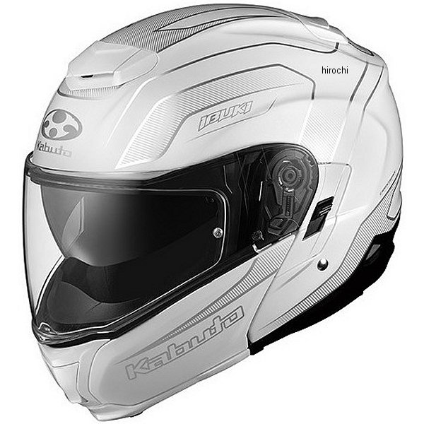 【メーカー在庫あり】 オージーケーカブト OGK KABUTO フルフェイスヘルメット IBUKI ENVOY パールホワイト Mサイズ 4966094560355 JP店